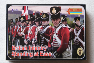 Strelets 1/72 ST0162 British Standing At Ease (Napoleolic)